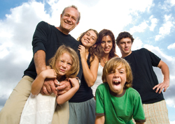 Opie Effect Family Picture Original